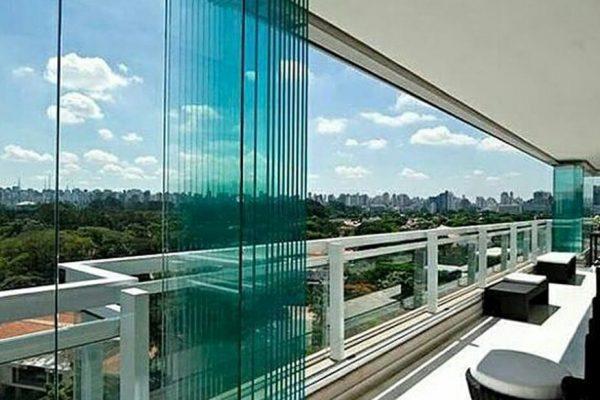 درب شیشه ای بالکنی از محصولات درب اتوماتیک دورال در