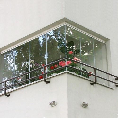 بالکن های شیشه ای (درب اتوماتیک شیشه ای دورال در)