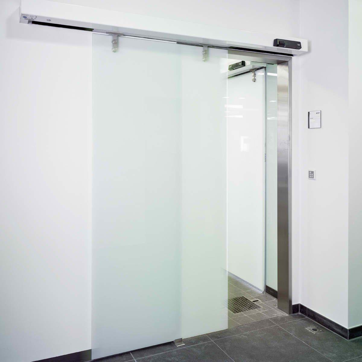 درب اتوماتیک بیمارستانی (درب اتوماتیک شیشه ای دورال در)