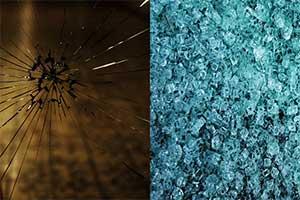 تفاوت خردشدگی در شیشه سکوریتی و معمولی