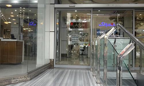 درب شیشه ای معمولی ورودی