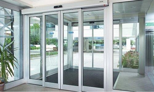 درب های شیشه ای اتوماتیک از اجزای مختلفی تشکیل شده اند