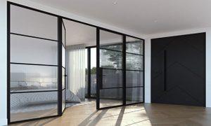 نصب درب های شیشه ای