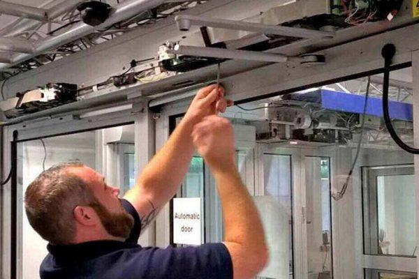 آموزش نصب درب اتوماتیک به صورت 100 درصد کاربردی