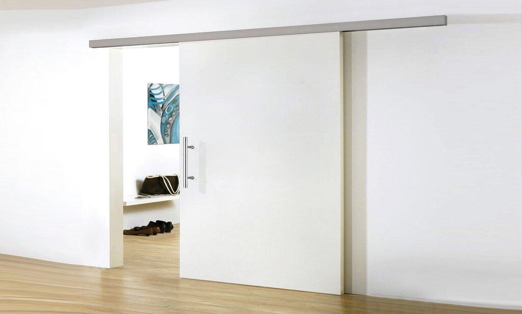 در ساختار درب کشویی، ریل و وزن درب باید با یکدیگر تناسب داشته باشند.