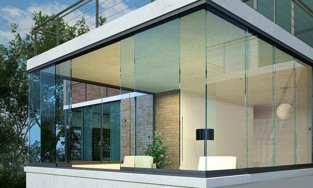 شیشه سکوریت ریلی